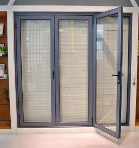 Puertas plegables carpinteria de aluminio en tenerife aluminium design - Puertas plegables aluminio ...